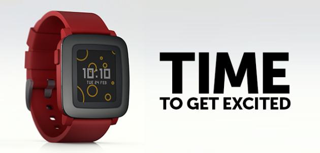 Time: ecco il nuovo smartwatch di Pebble