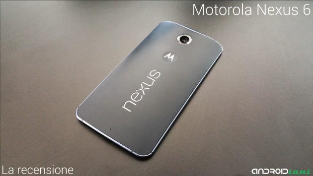 Motorola Nexus 6: la recensione