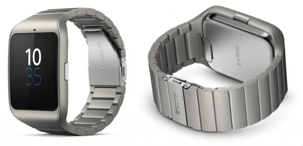 Sony SmartWatch 3 con cinturino in metallo disponibile anche in Italia