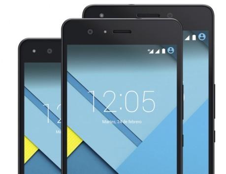 BQ svela tre nuovi smartphone con CPU a 64-bit e Lollipop
