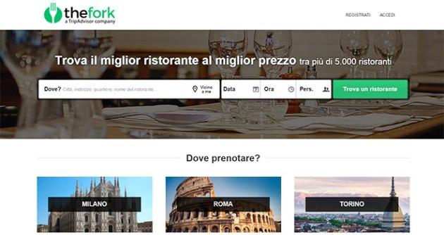 TheFork: da TripAdvisor arriva l'app per prenotare qualsiasi ristorante