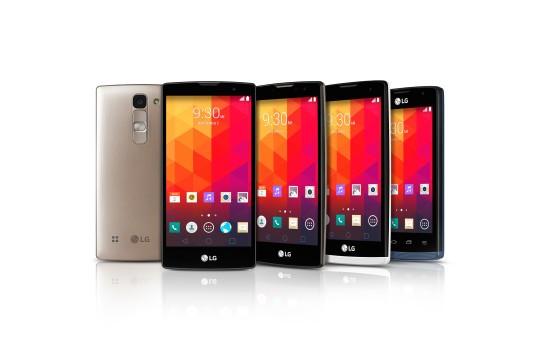 LG svela la nuova gamma di fascia media in preparazione al MWC 2015