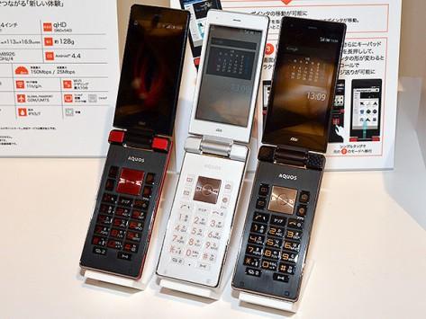Sharp AQUOS K SHF31, un flip smartphone Android per il mercato giapponese
