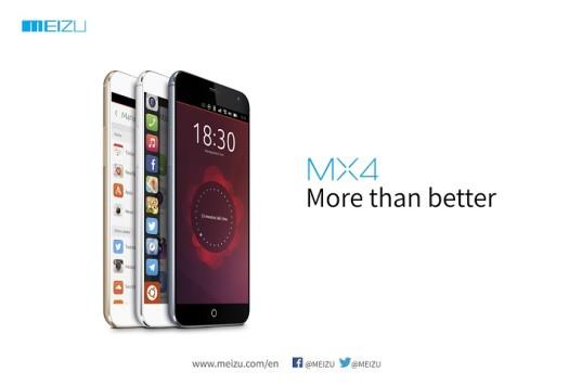 Meizu, in arrivo MX4 con Ubuntu al MWC