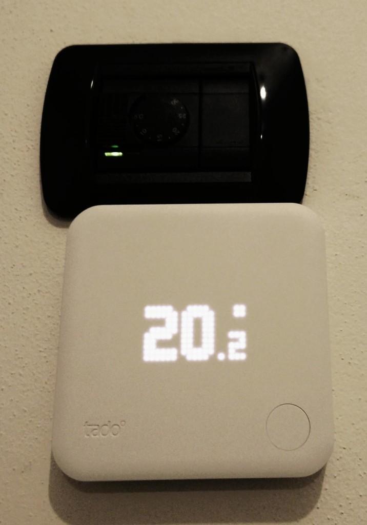 Tado la recensione del termostato intelligente for Termostato perry vecchio modello