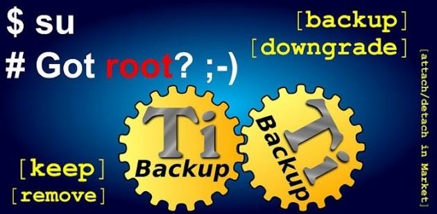 Titanium Backup si aggiorna alla versione 7
