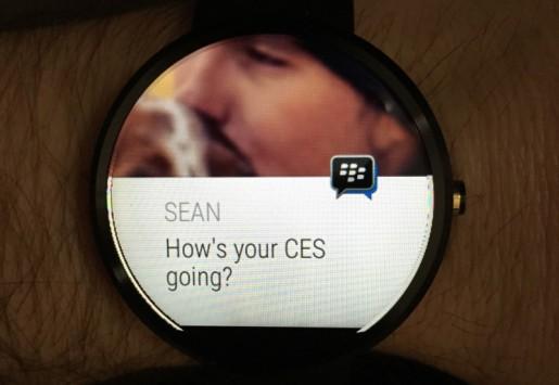 BlackBerry annuncia un aggiornamento per BBM con supporto ad Android Wear