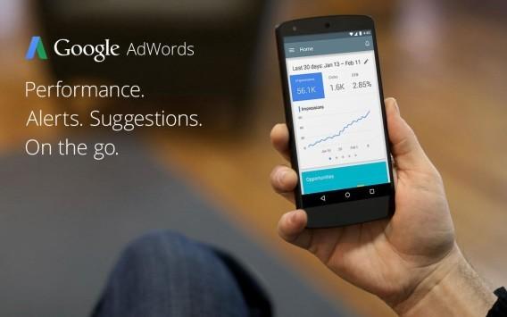 Google AdWords arriva ufficialmente su Android