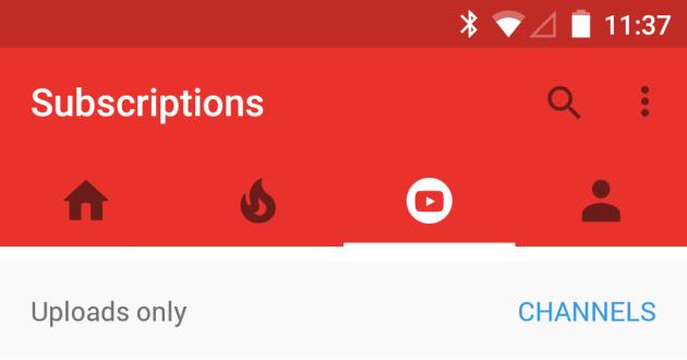 YouTube per Android: alcuni utenti stanno ricevendo una nuova interfaccia