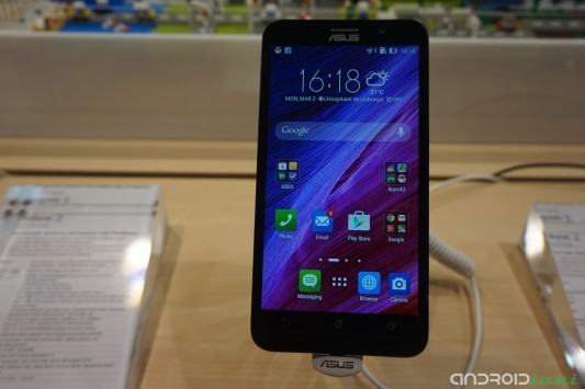 Asus Zenfone 2 in anteprima dal Mobile World Congress