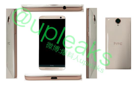 HTC One E9: emergono in rete nuove foto leaked