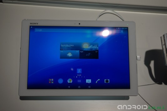 Sony annuncia Xperia Z4 Tablet al Mobile World Congress [HANDS ON]