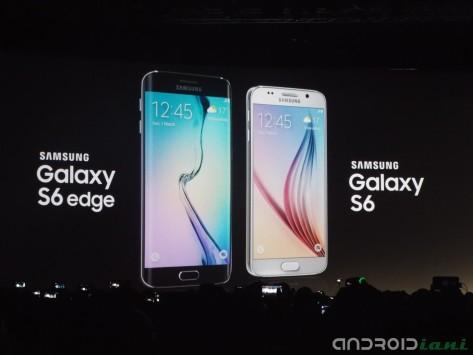 Samsung Galaxy S6 e Galaxy S6 Edge presentati ufficialmente