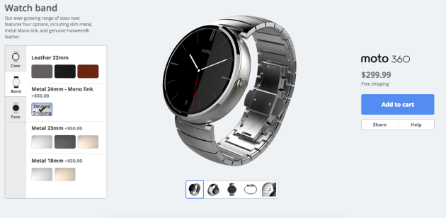 Moto 360 Maker arriva in USA