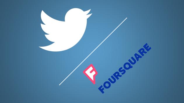 Twitter e Foursquare per una posizione più precisa all'interno dei tweets