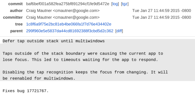 Il multi-window potrebbe presto approdare su Android stock
