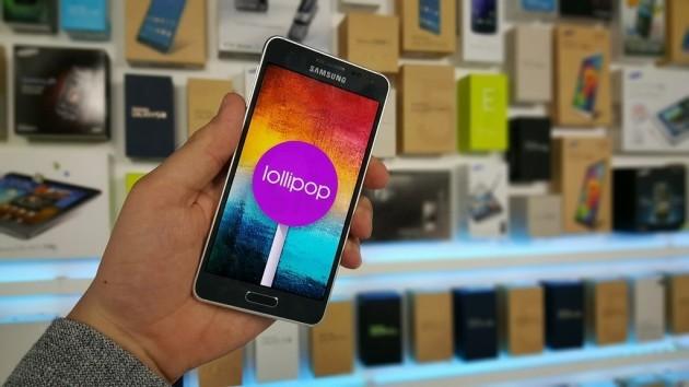 Samsung Galaxy Alpha inizia a ricevere Android 5.0 Lollipop in Corea del Sud