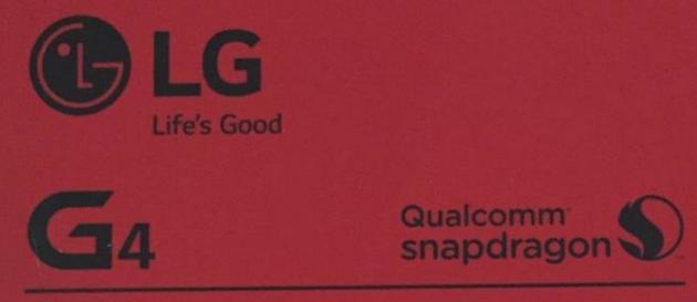LG G4, le immagini della confezione confermano alcune caratteristiche
