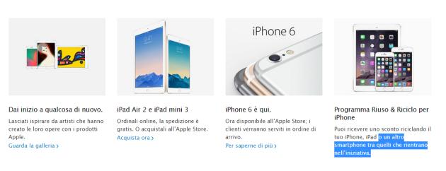 Apple rottama smartphone Android in cambio di sconti su iPhone: via al programma anche in Italia