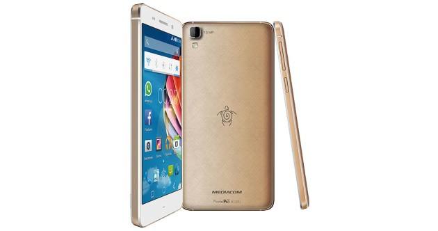 Mediacom PhonePad Duo X520U: nuovo smartphone in lega di magnesio