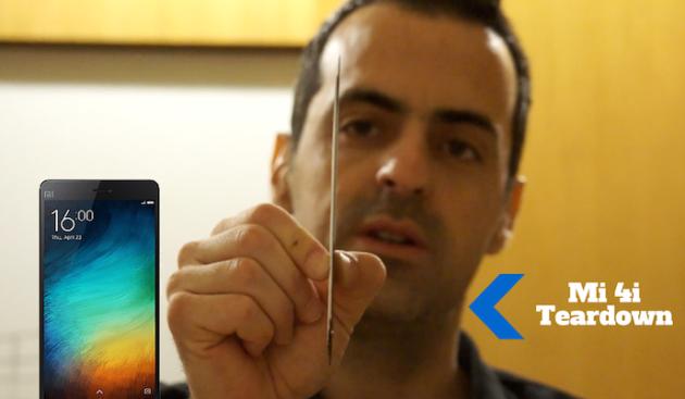 Xiaomi Mi4i, ecco il teardown con Hugo Barra