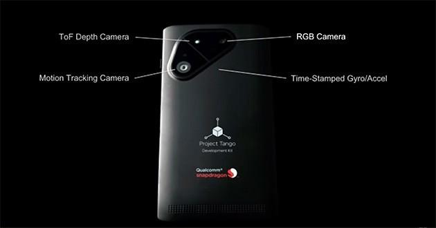 Google e Qualcomm al lavoro su uno smartphone per Project Tango