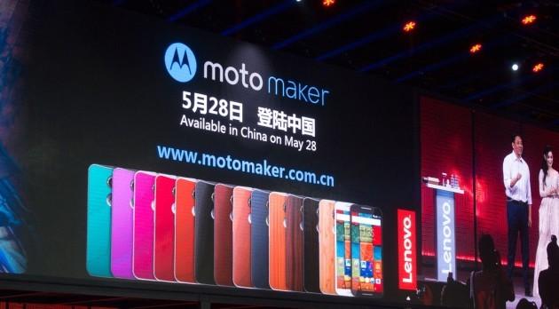 Lenovo porta il Moto Maker in Cina