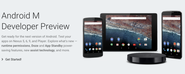 I/O 2015 - Android M: online le factory image della preview