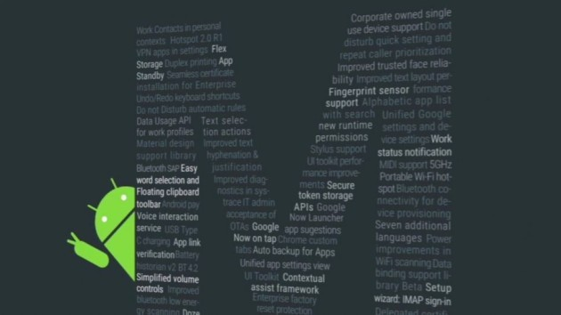 Android M: novità anche per la tastiera e la tendina delle notifiche