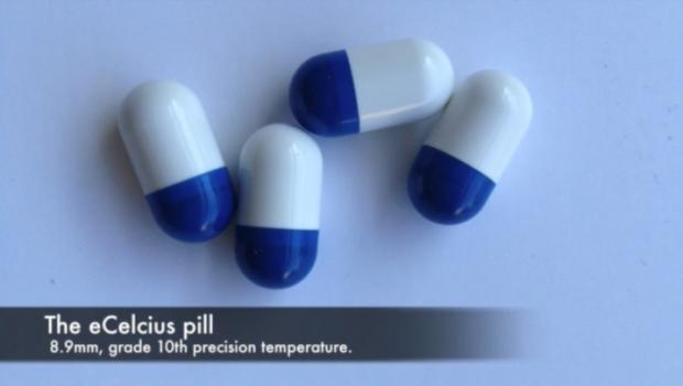 eCelsius: una pillola indigeribile capace di controllare la temperatura corporea.