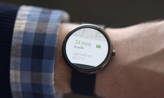 Modulo Aria: Gesture su Pebble Time e Android Wear