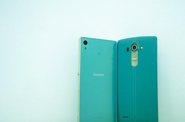 LG G4 e Sony Xperia Z4: colorazione turchese per il mercato vietnamita