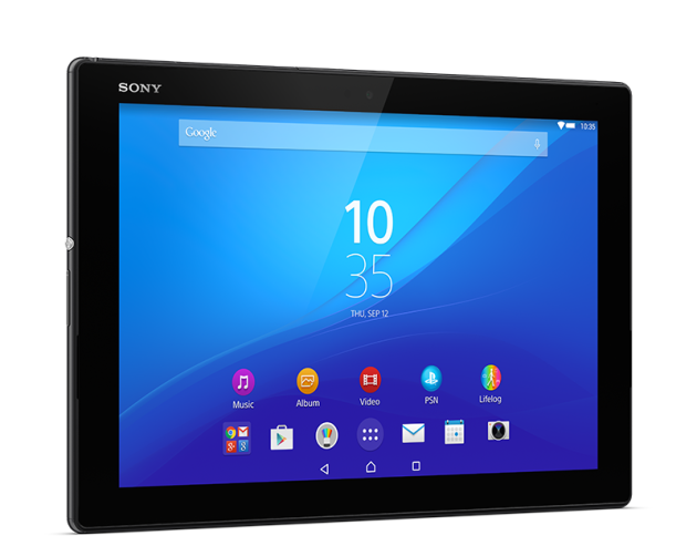 Sony Xperia Z4 Tablet arriva in Italia in versione Wi-Fi a 599€