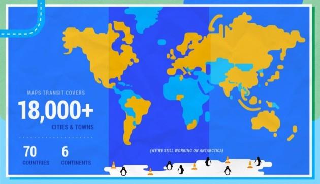Google Maps mostra in tempo reale gli orari dei mezzi pubblici