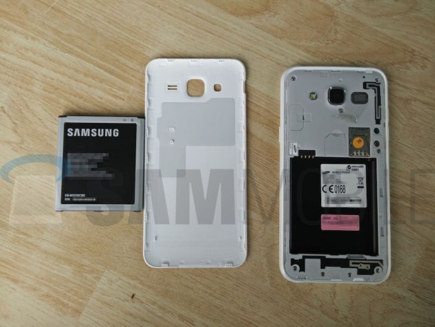 Samsung Galaxy J5 catturato in foto