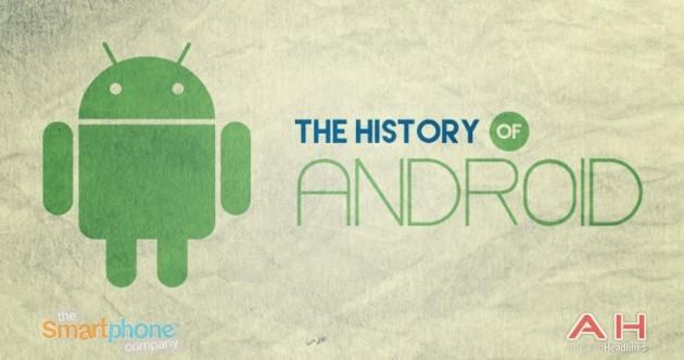 Android: in un'infografica raccolta l'intera storia del robottino verde