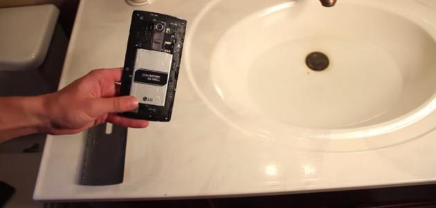 LG G4, risultato a sorpresa in un primo water-test: resiste due ore sott'acqua
