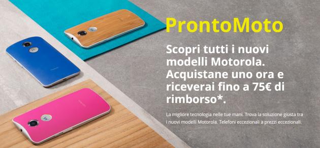 ProntoMoto, sconti fino a 75 Euro sugli smartphone Motorola italiani (Nexus 6 compreso)