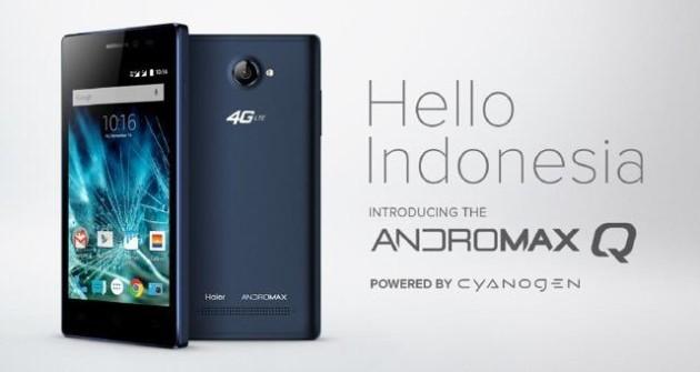 Cyanogen in Indonesia con il nuovo Andromax Q, smartphone da 90 Euro