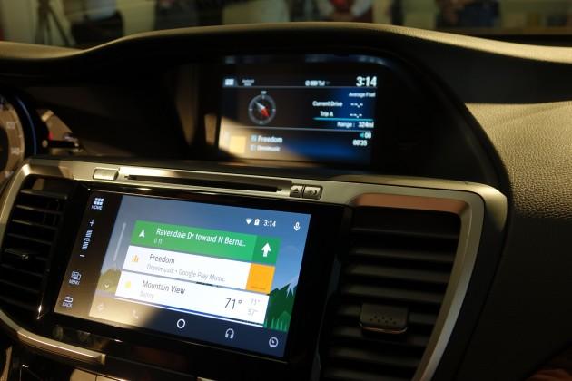 Honda porterà Android Auto sull'Accord 2016