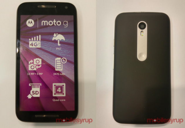 Motorola Moto G 2015 già in India per i test