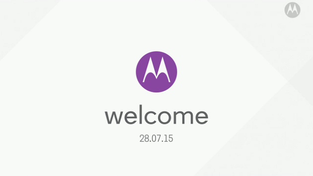 Motorola: Segui il video della presentazione
