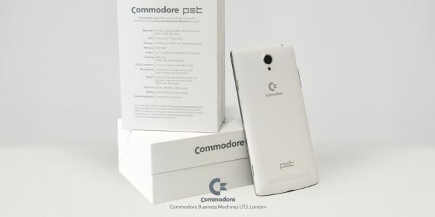 Commodore Pet: nuovo smartphone con Android Lollipop, CPU octa-core e display FHD
