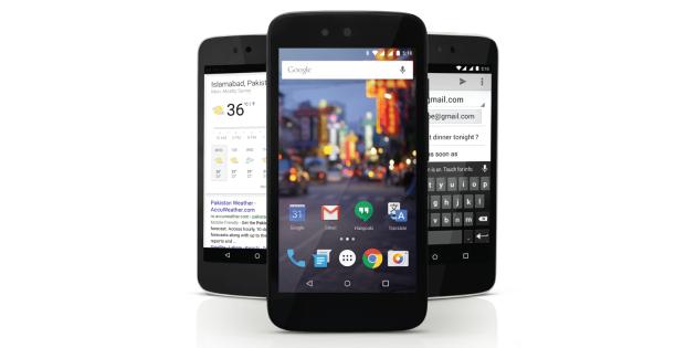 QMobile A1: nuovo Android One per il Pakistan