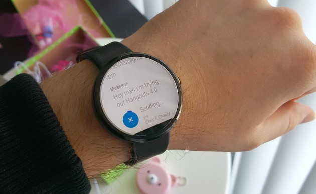 Hangout 4.0 si mostra su Android Wear