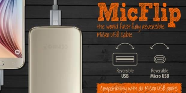MicFlip: il primo cavo USB completamente reversibile