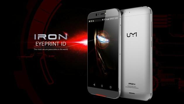UMI Iron sfrutterà la tecnologia Eyeprint ID