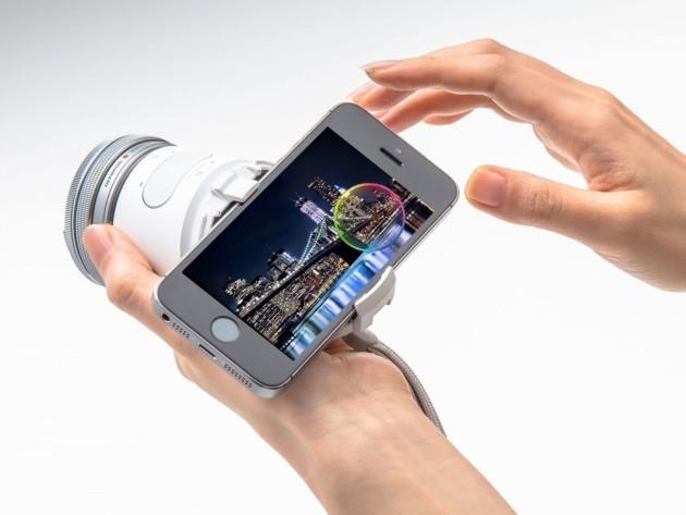 Olympus Air: la nuova fotocamera per smartphone Android e iOS