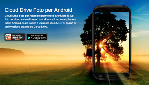 Cloud Drive di Amazon diventa app