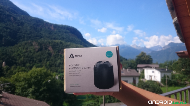 Recensione Accessori Aukey #2: Speaker bluetooth portatile BT058